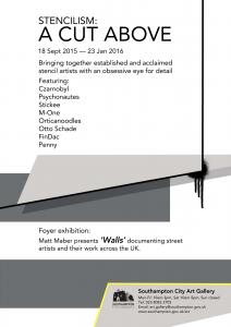 Stencilism- A Cut Above Poster pdf I